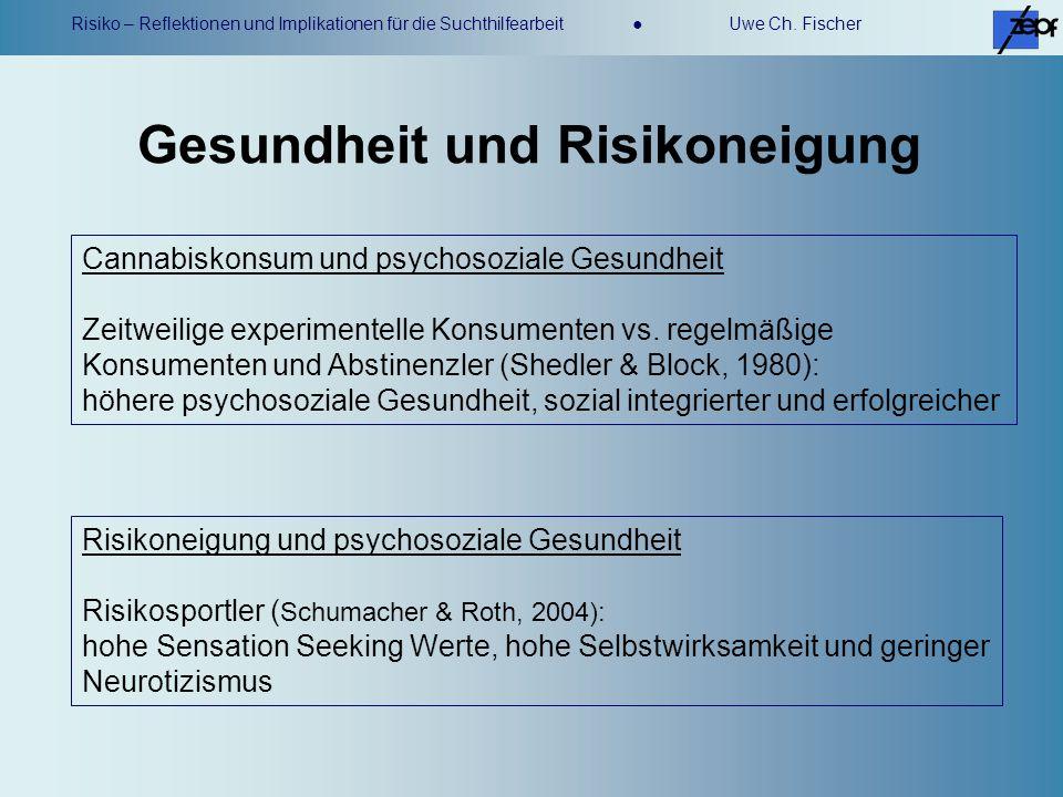 Gesundheit und Risikoneigung