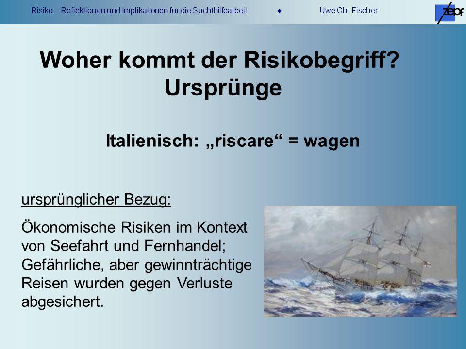 Woher kommt der Risikobegriff