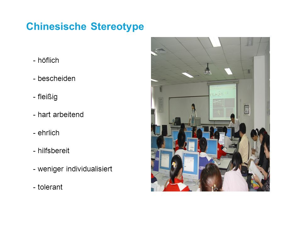 Chinesische Stereotype