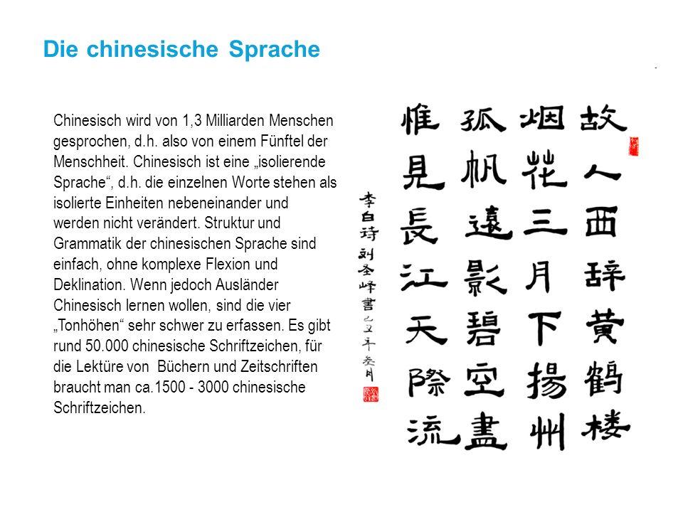 Die chinesische Sprache