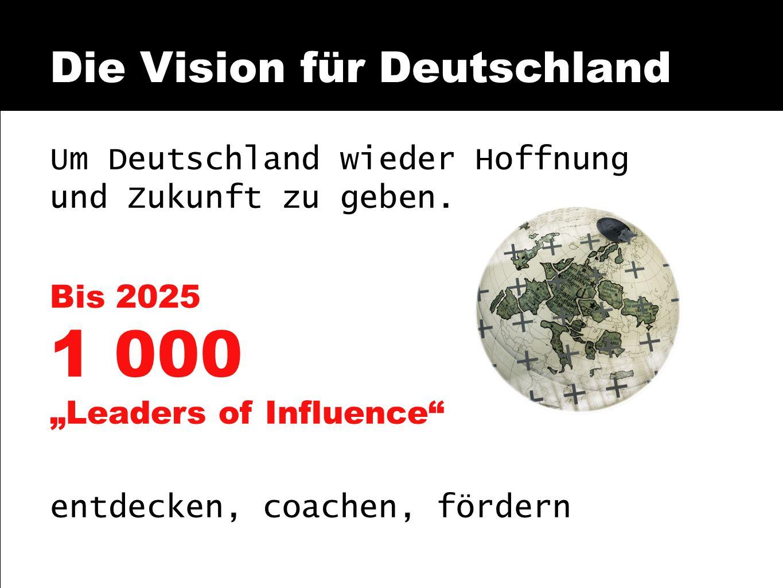 Die Vision für Deutschland