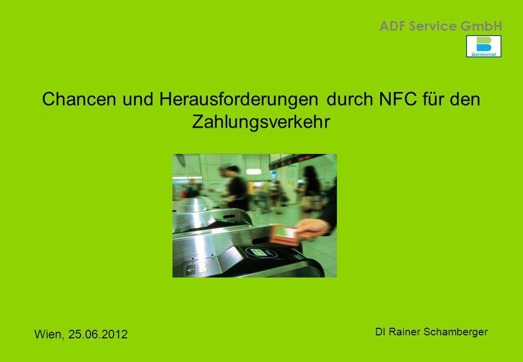Chancen und Herausforderungen durch NFC für den Zahlungsverkehr