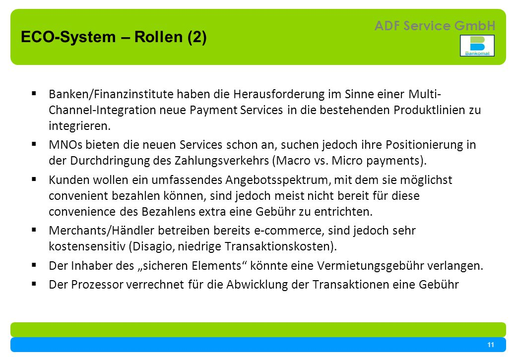 ECO-System – Rollen (2)