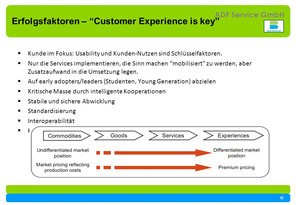 Erfolgsfaktoren – Customer Experience is key