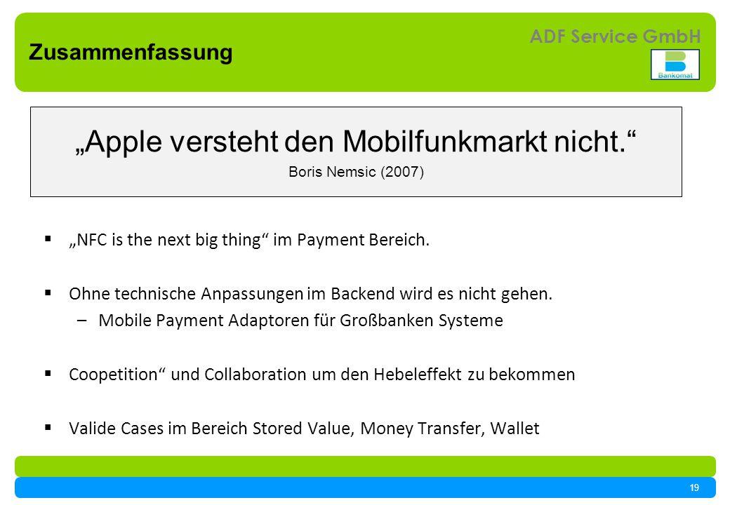 """""""Apple versteht den Mobilfunkmarkt nicht."""