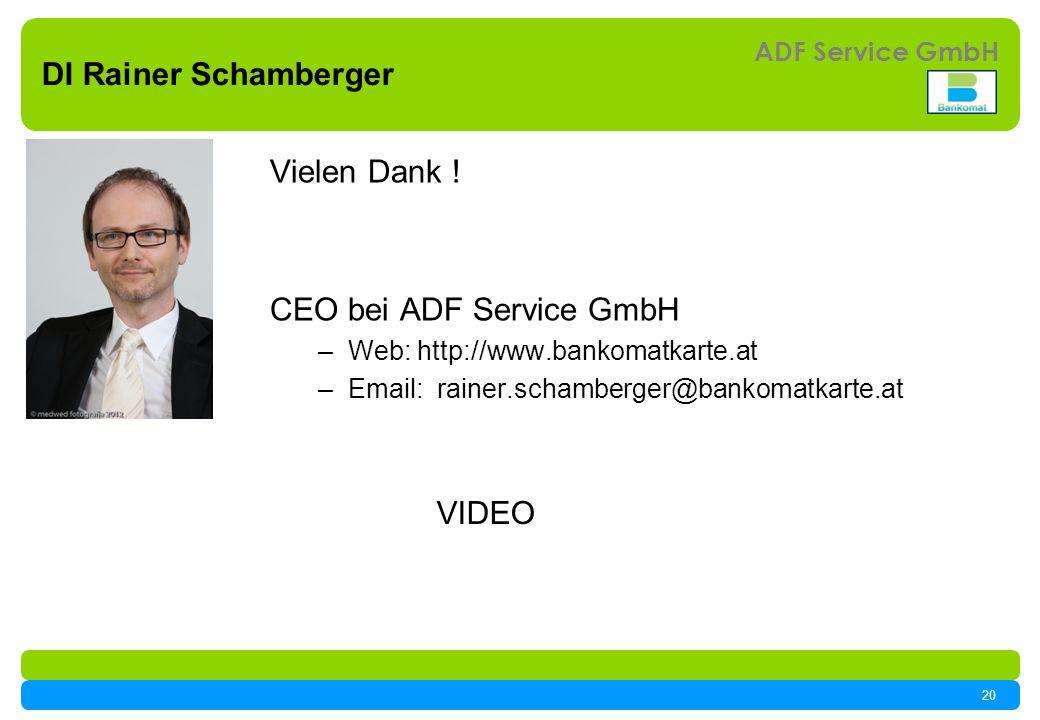 CEO bei ADF Service GmbH