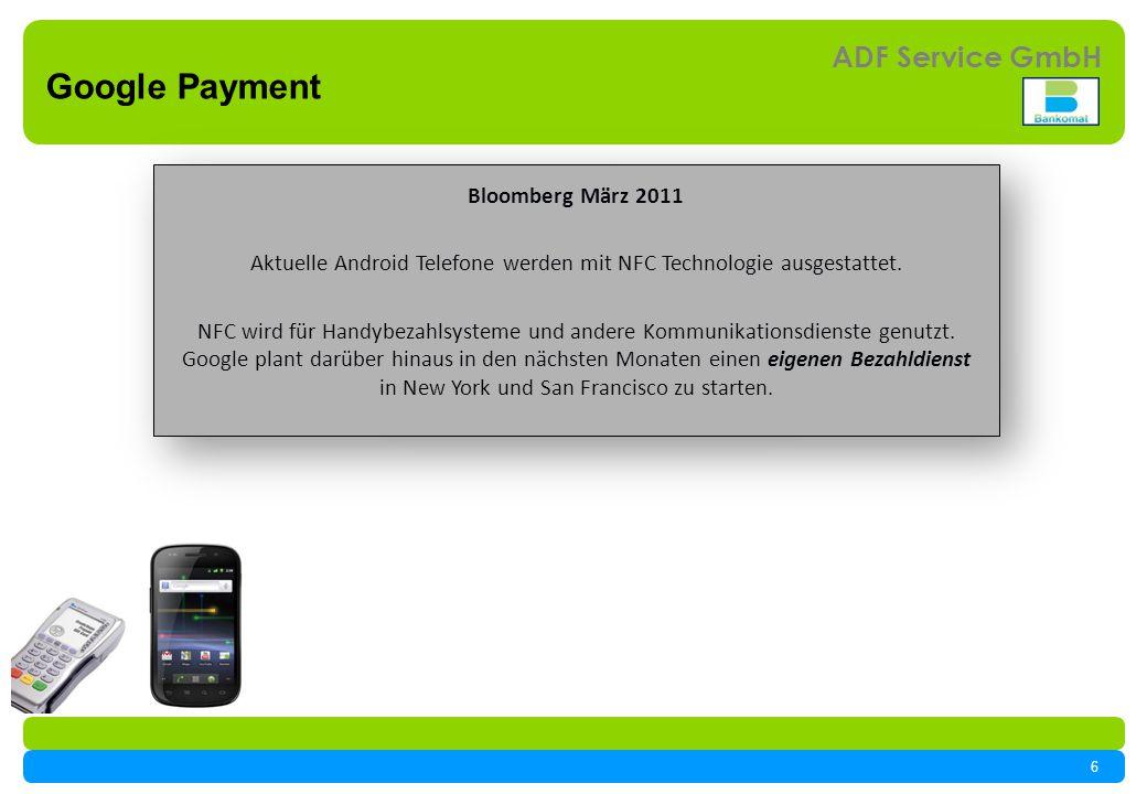 Aktuelle Android Telefone werden mit NFC Technologie ausgestattet.