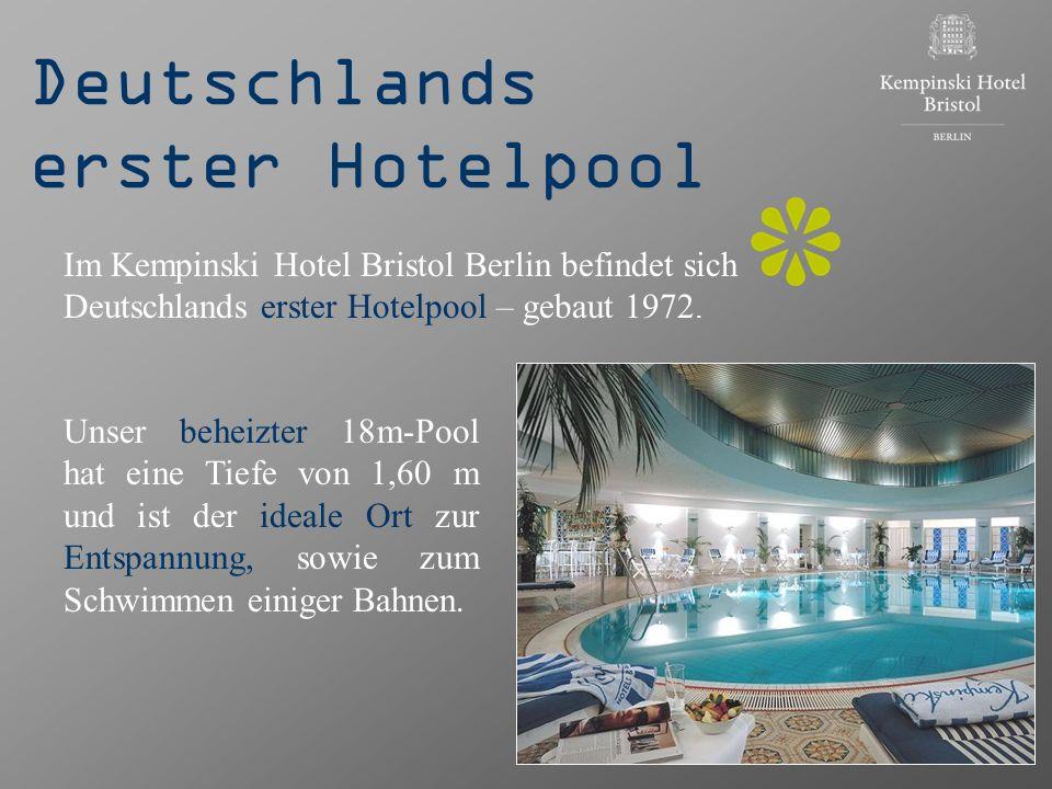 Deutschlands erster Hotelpool