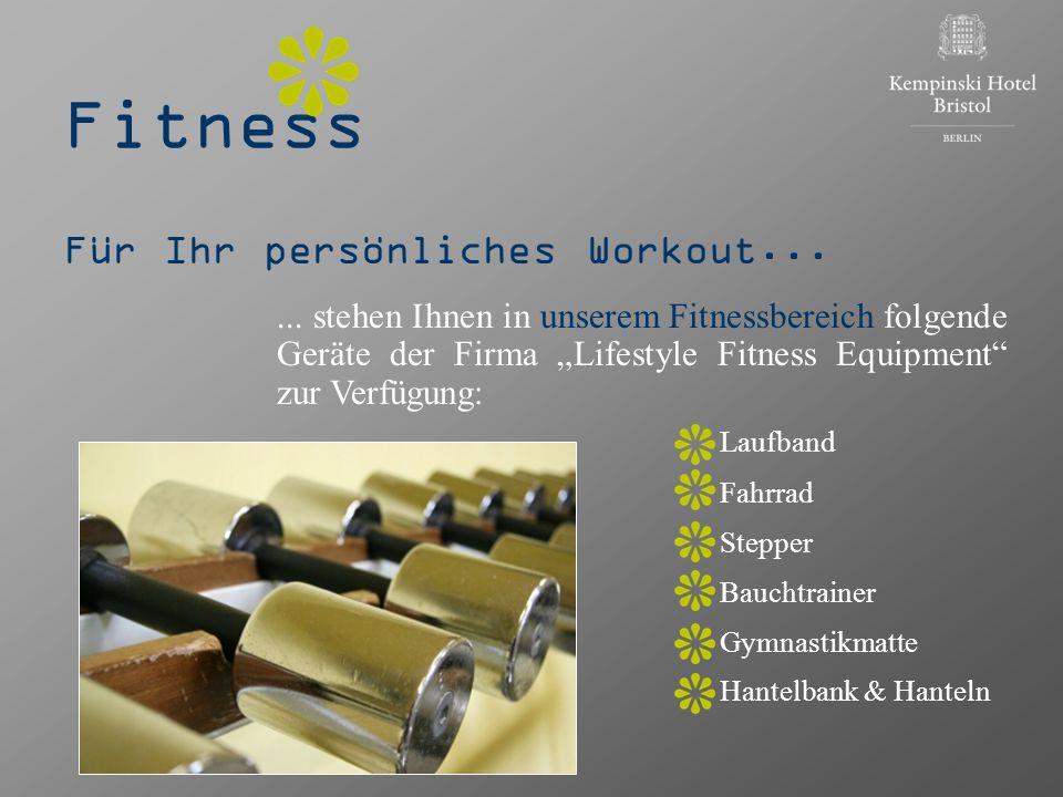 Fitness Für Ihr persönliches Workout... Laufband Fahrrad Stepper
