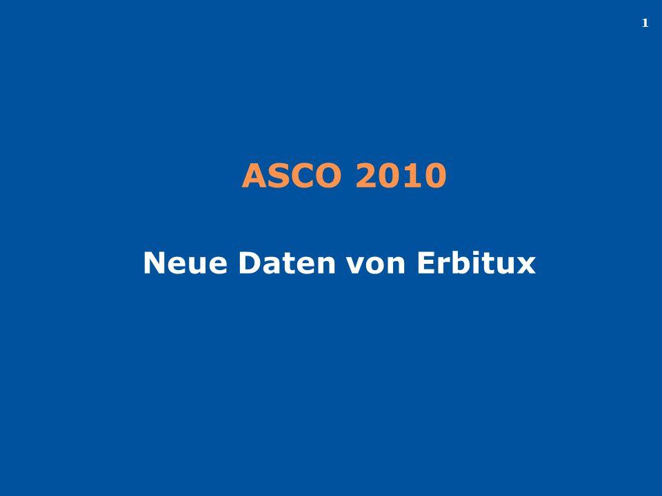 ASCO 2010 Neue Daten von Erbitux