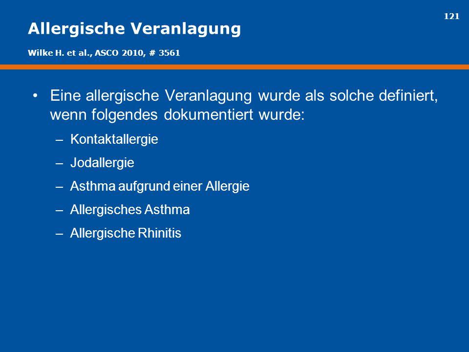 Allergische Veranlagung