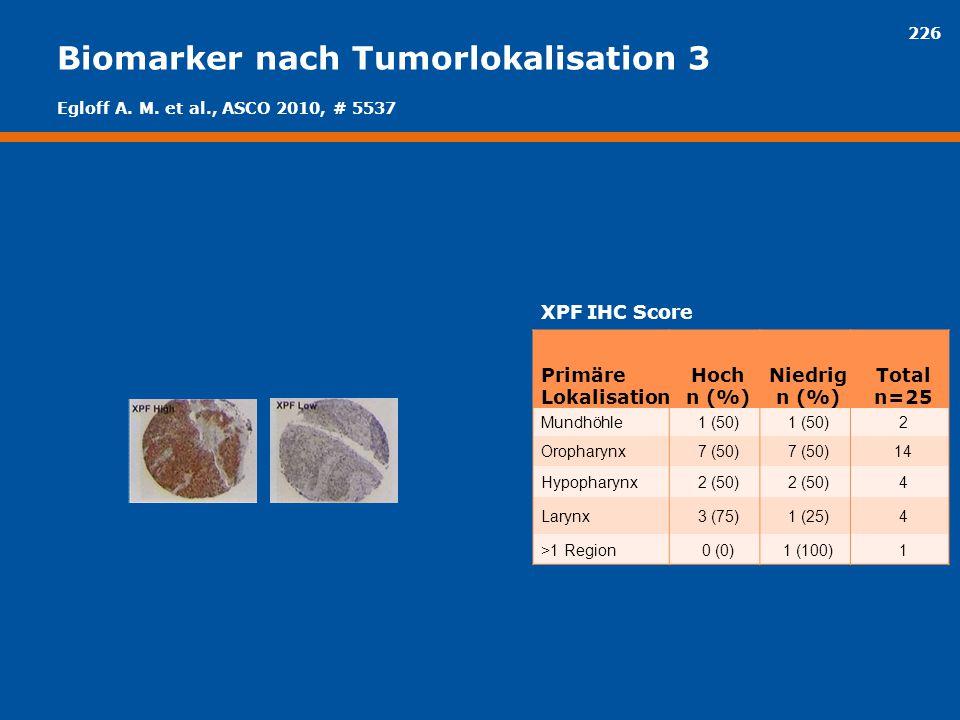 Biomarker nach Tumorlokalisation 3