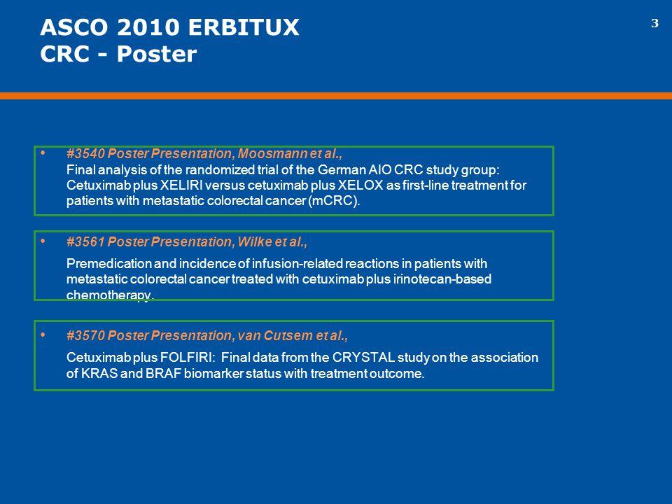 ASCO 2010 ERBITUX CRC - Poster