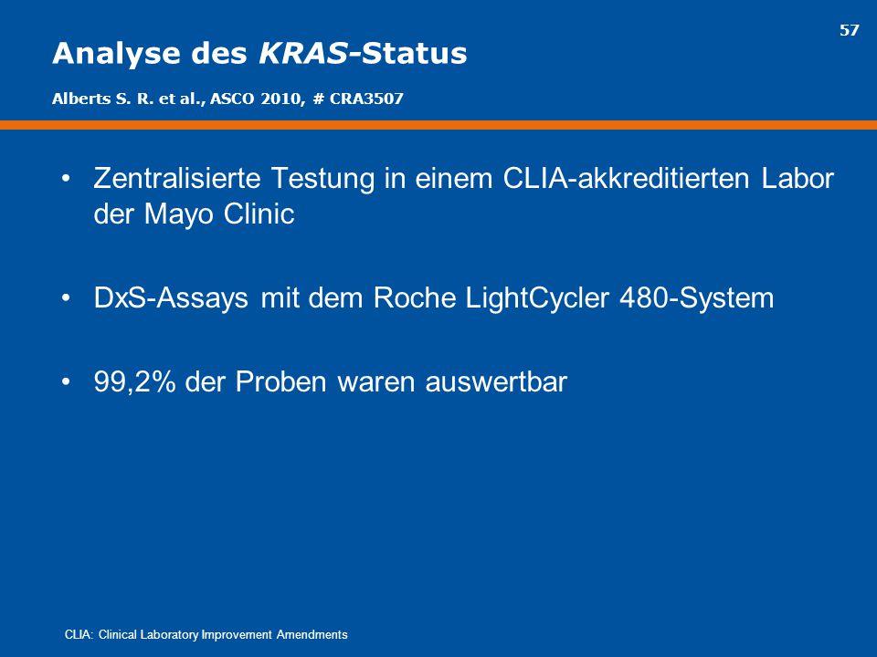 Analyse des KRAS-Status
