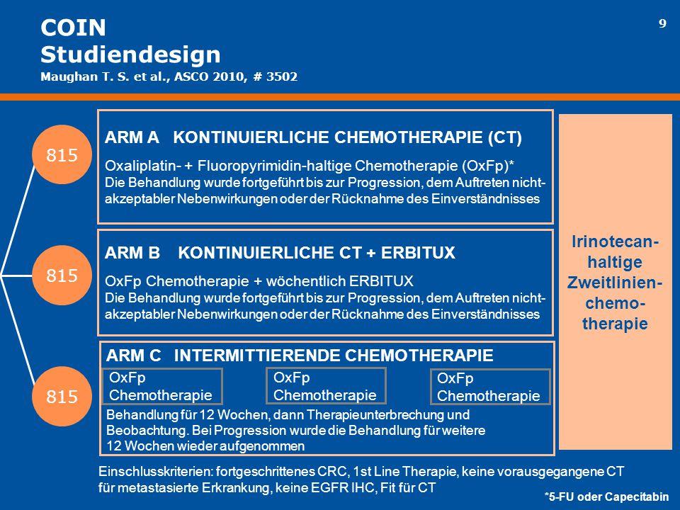 Zweitlinien-chemo-therapie