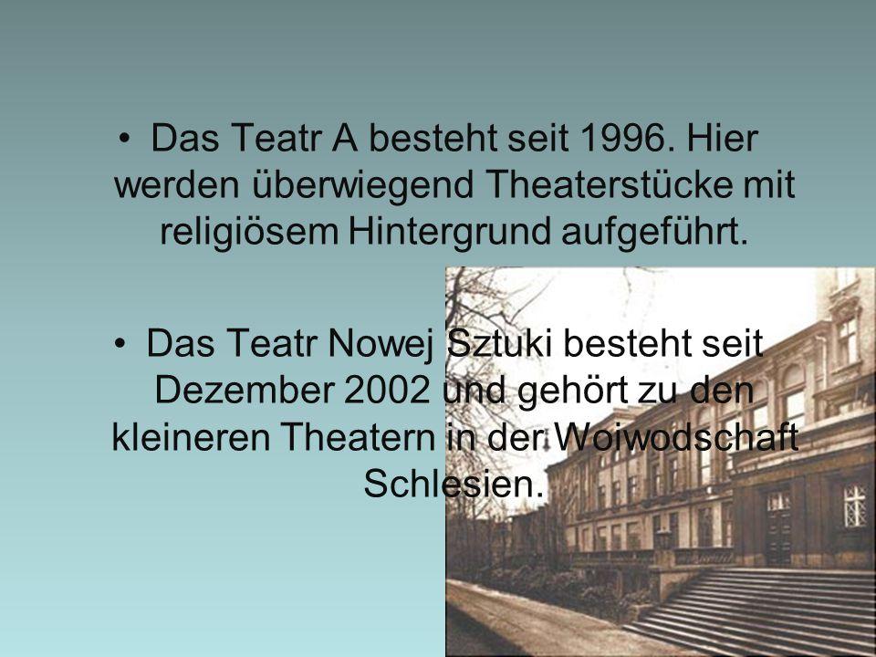 Das Teatr A besteht seit 1996