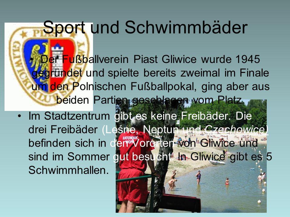 Sport und Schwimmbäder