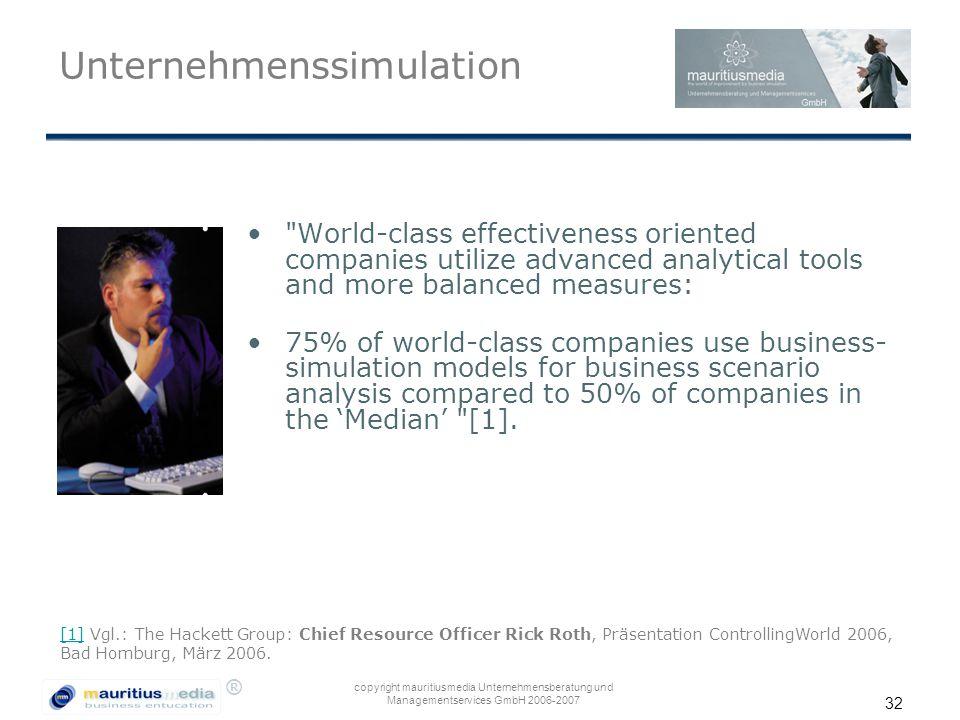 Unternehmenssimulation