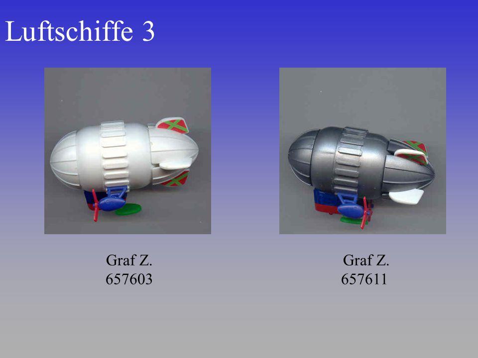 Luftschiffe 3 Graf Z. 657603 Graf Z. 657611
