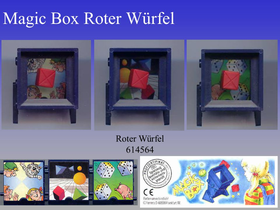 Magic Box Roter Würfel Roter Würfel 614564