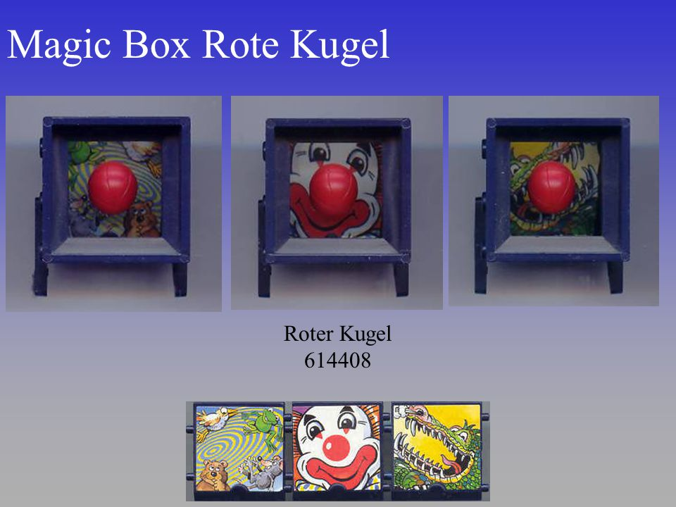 Magic Box Rote Kugel Roter Kugel 614408