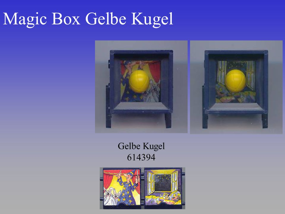 Magic Box Gelbe Kugel Gelbe Kugel 614394
