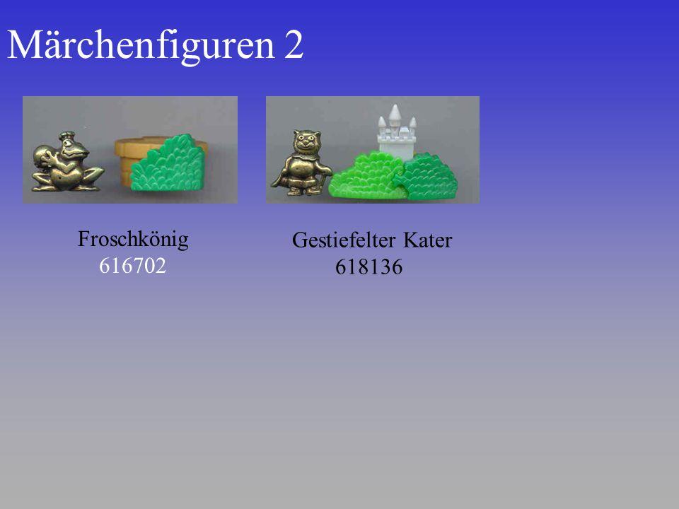 Märchenfiguren 2 Froschkönig 616702 Gestiefelter Kater 618136