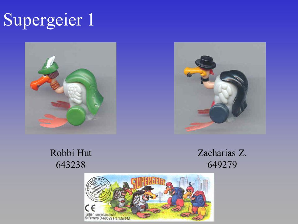 Supergeier 1 Robbi Hut 643238 Zacharias Z. 649279