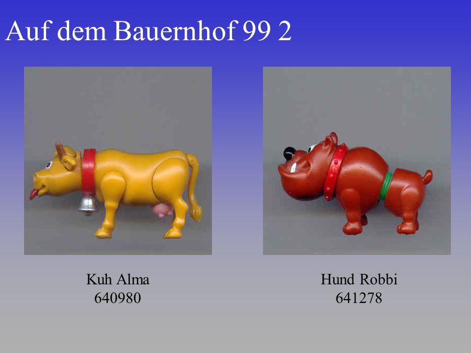 Auf dem Bauernhof 99 2 Kuh Alma 640980 Hund Robbi 641278