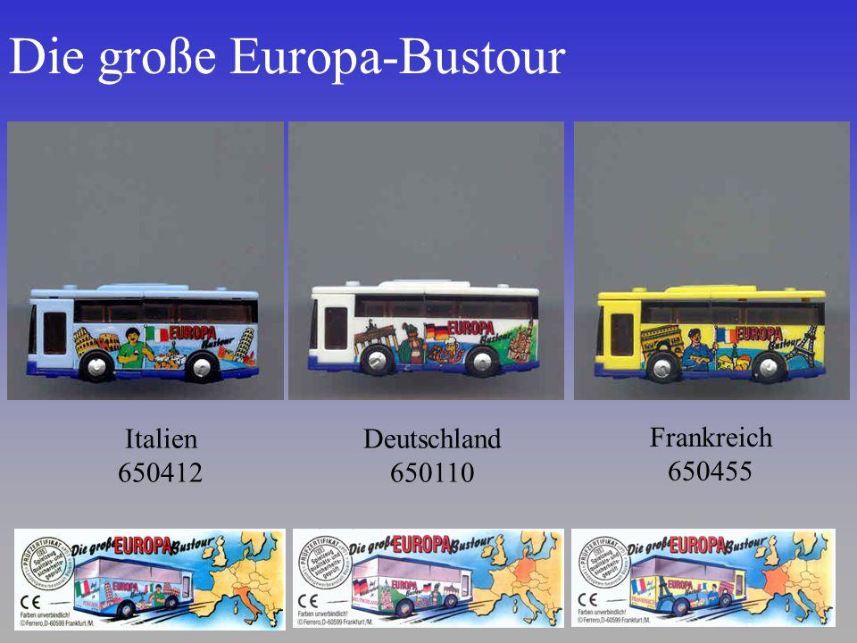 Die große Europa-Bustour