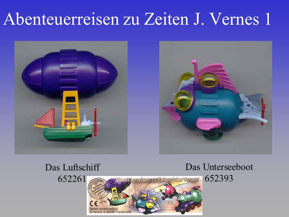 Abenteuerreisen zu Zeiten J. Vernes 1