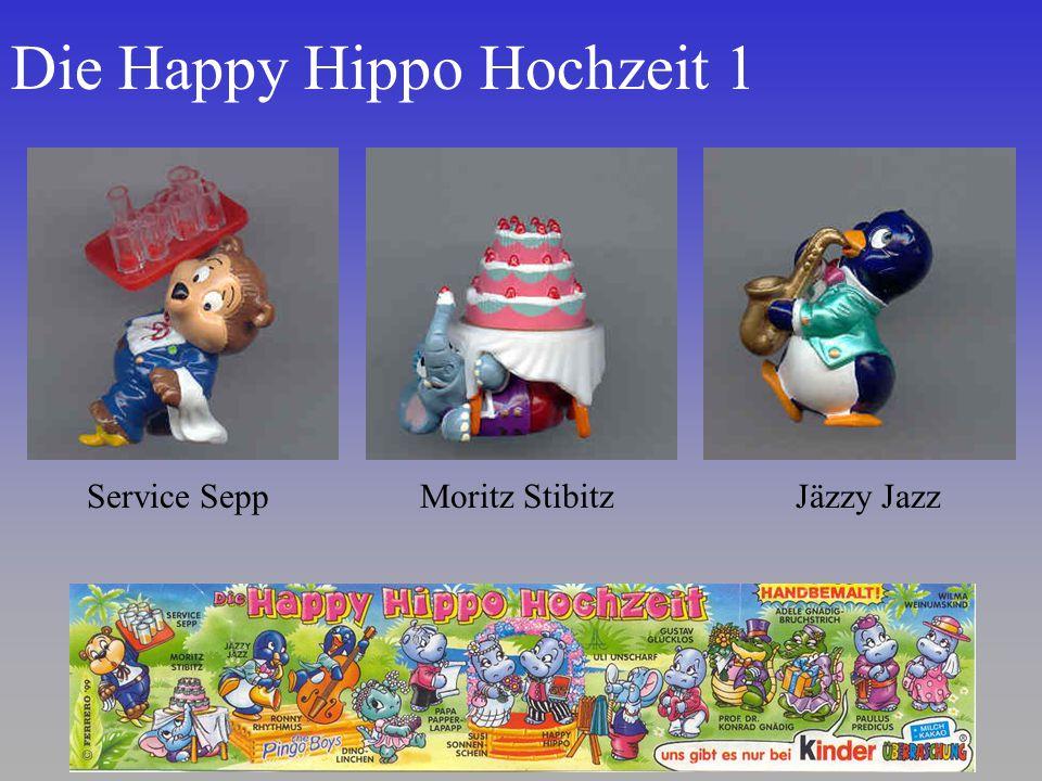Die Happy Hippo Hochzeit 1