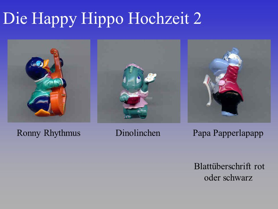 Die Happy Hippo Hochzeit 2