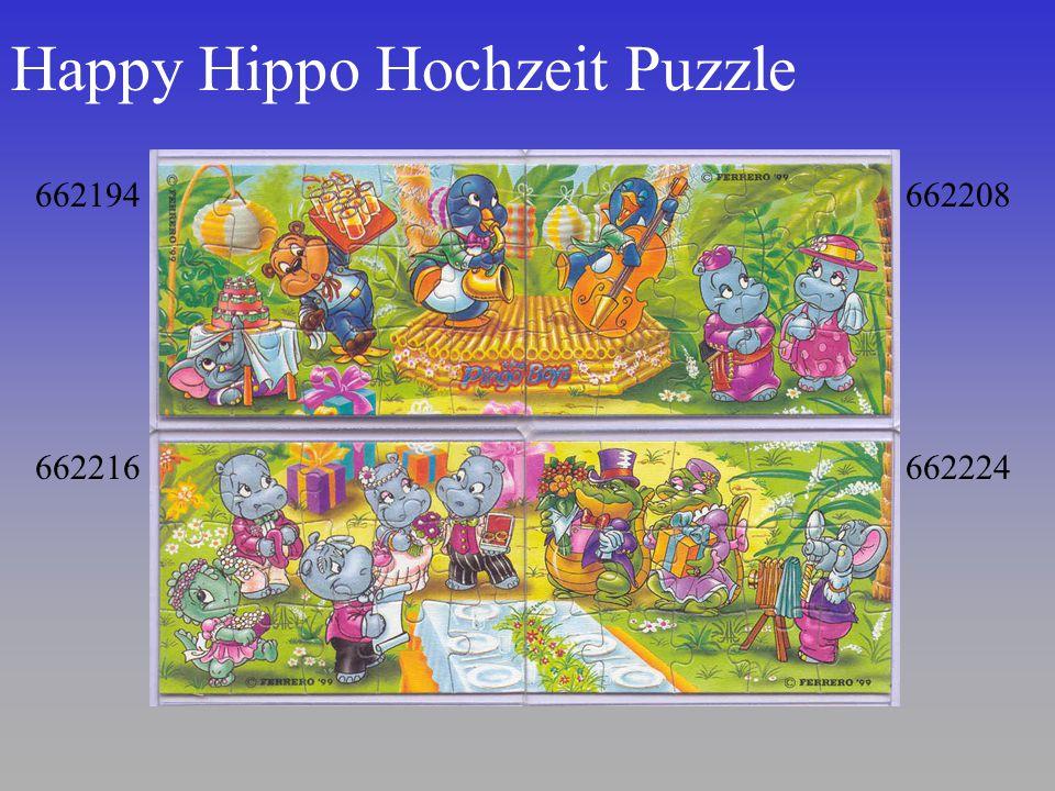 Happy Hippo Hochzeit Puzzle