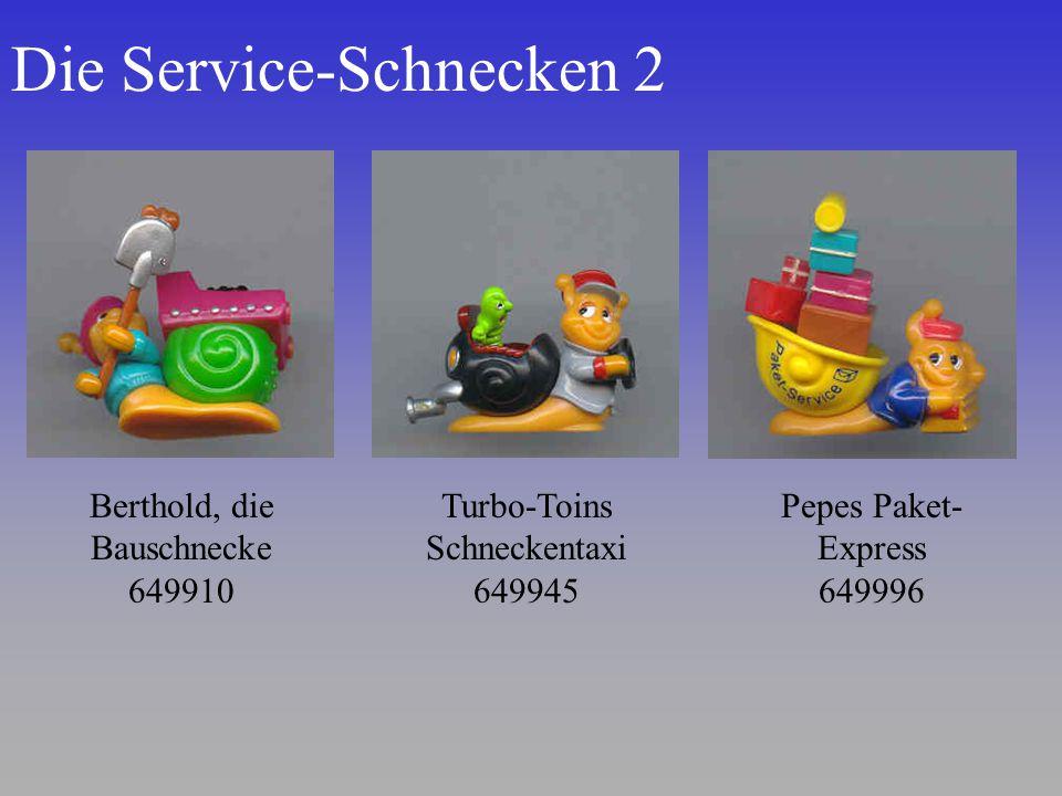Die Service-Schnecken 2