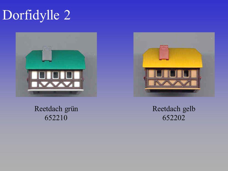 Dorfidylle 2 Reetdach grün 652210 Reetdach gelb 652202