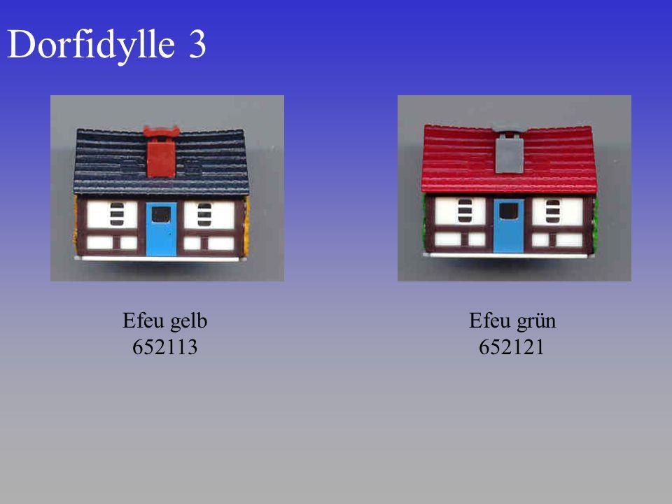 Dorfidylle 3 Efeu gelb 652113 Efeu grün 652121