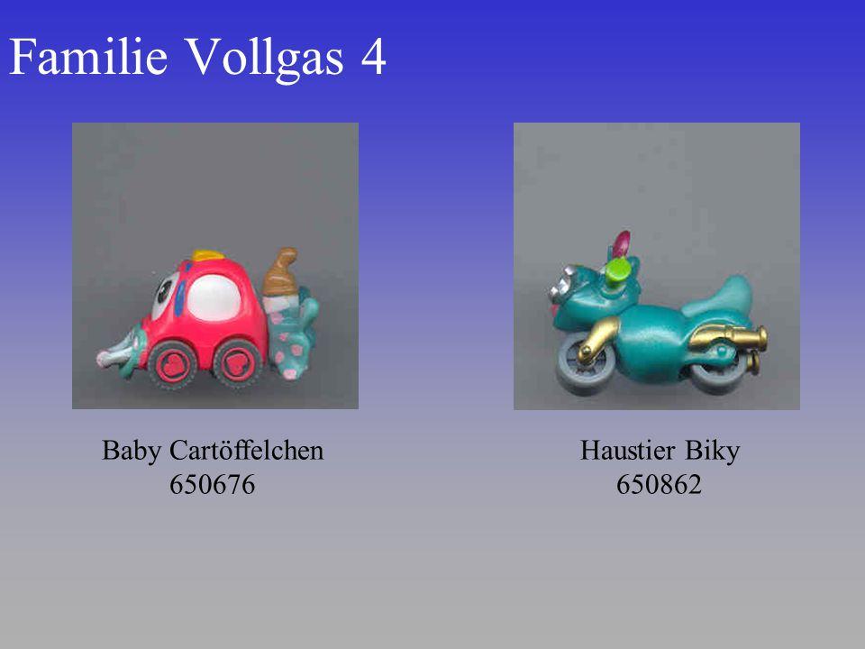 Familie Vollgas 4 Baby Cartöffelchen 650676 Haustier Biky 650862