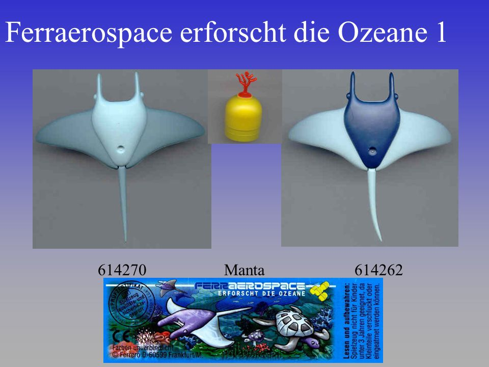 Ferraerospace erforscht die Ozeane 1