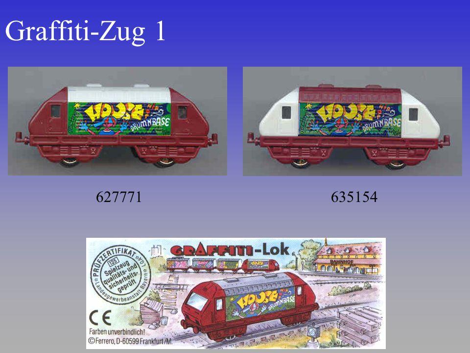 Graffiti-Zug 1 627771 635154