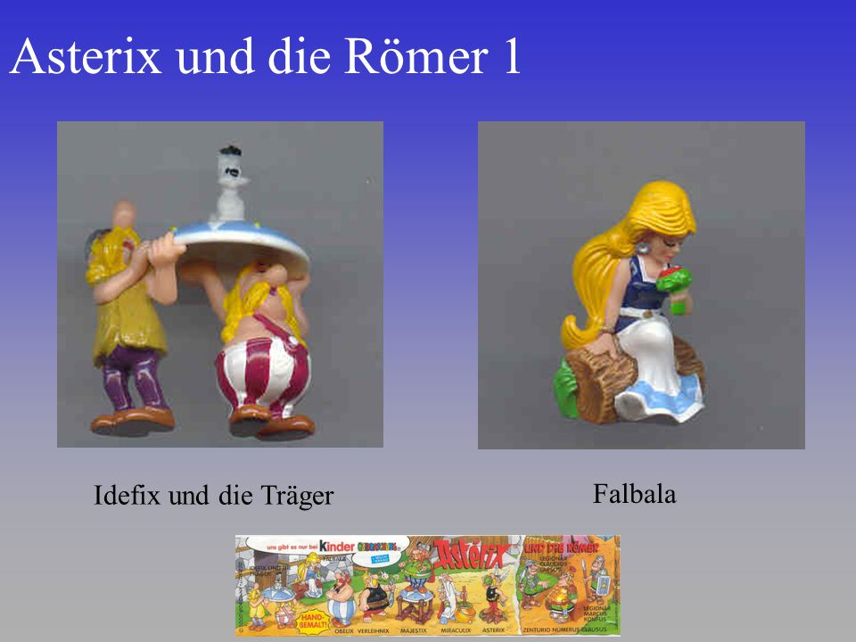 Asterix und die Römer 1 Idefix und die Träger Falbala