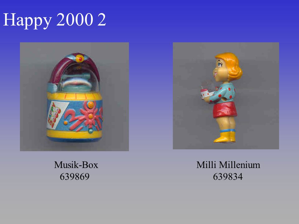 Happy 2000 2 Musik-Box 639869 Milli Millenium 639834