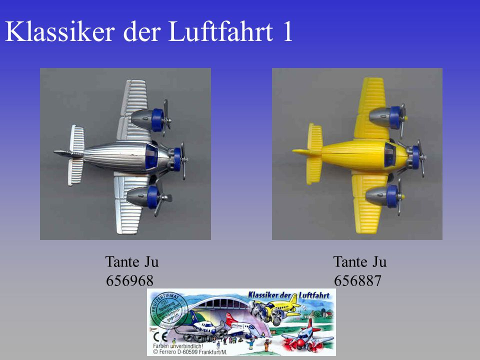 Klassiker der Luftfahrt 1