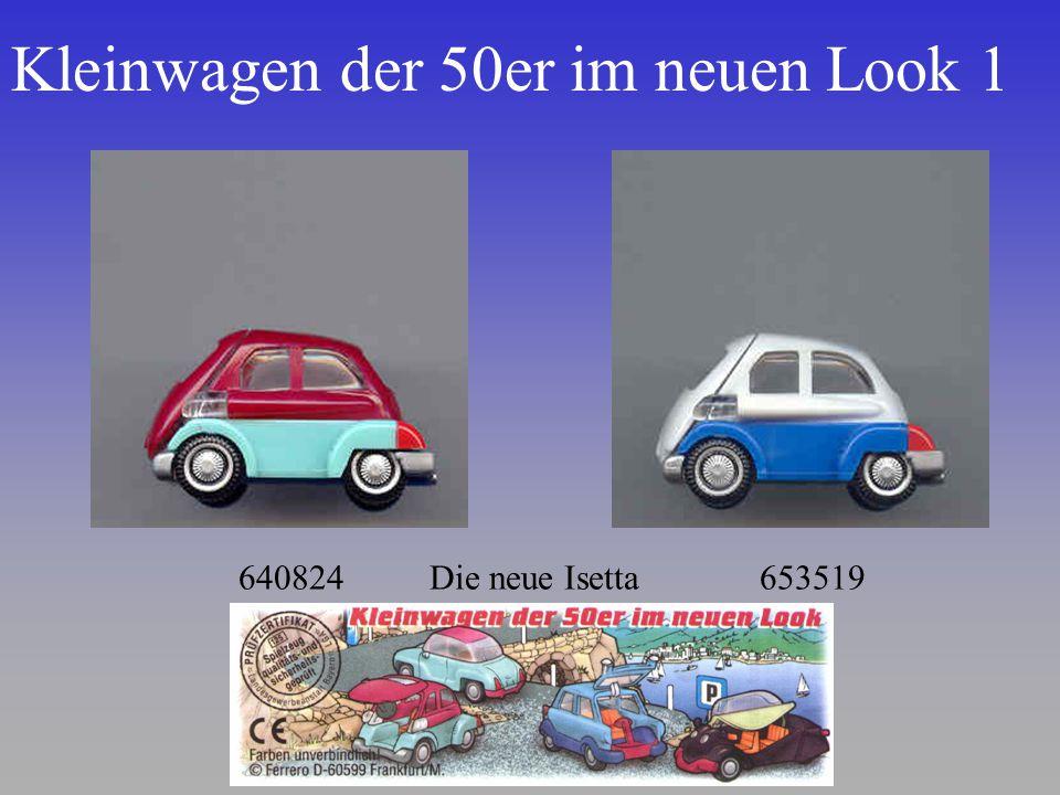Kleinwagen der 50er im neuen Look 1