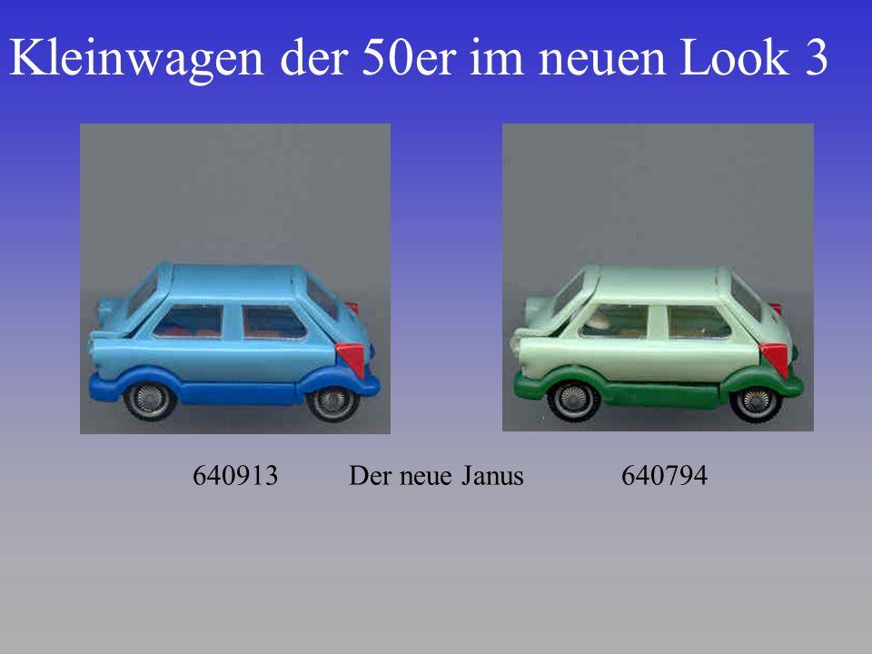 Kleinwagen der 50er im neuen Look 3