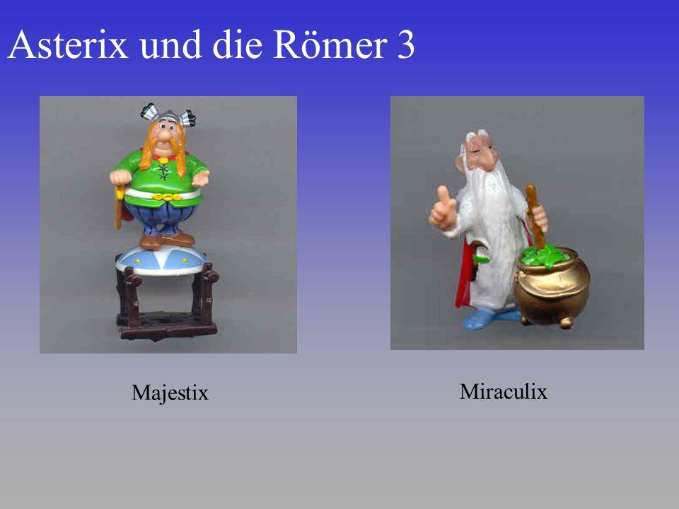 Asterix und die Römer 3 Majestix Miraculix