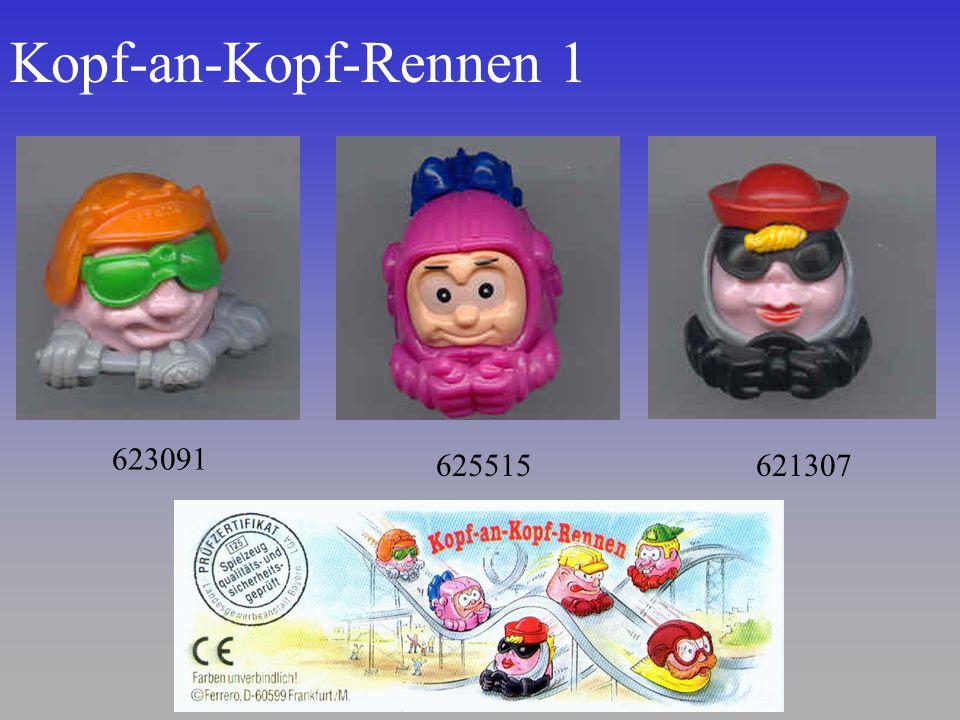 Kopf-an-Kopf-Rennen 1 623091 625515 621307