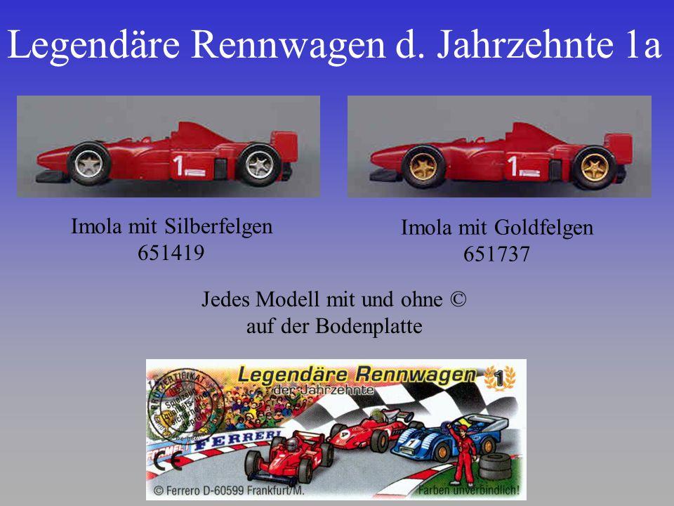 Legendäre Rennwagen d. Jahrzehnte 1a