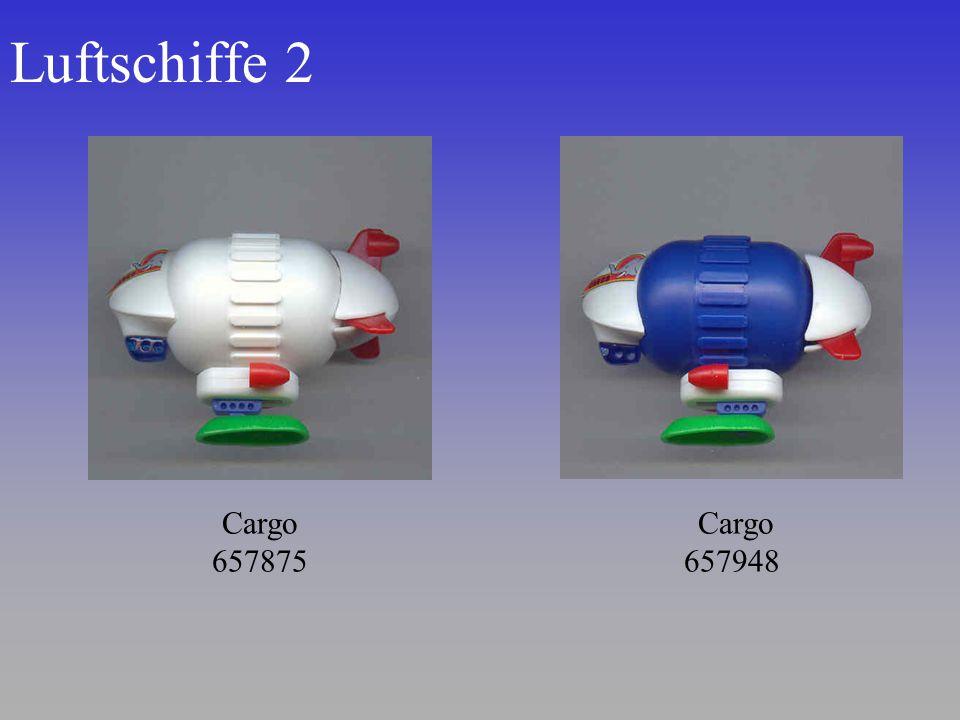Luftschiffe 2 Cargo 657875 Cargo 657948