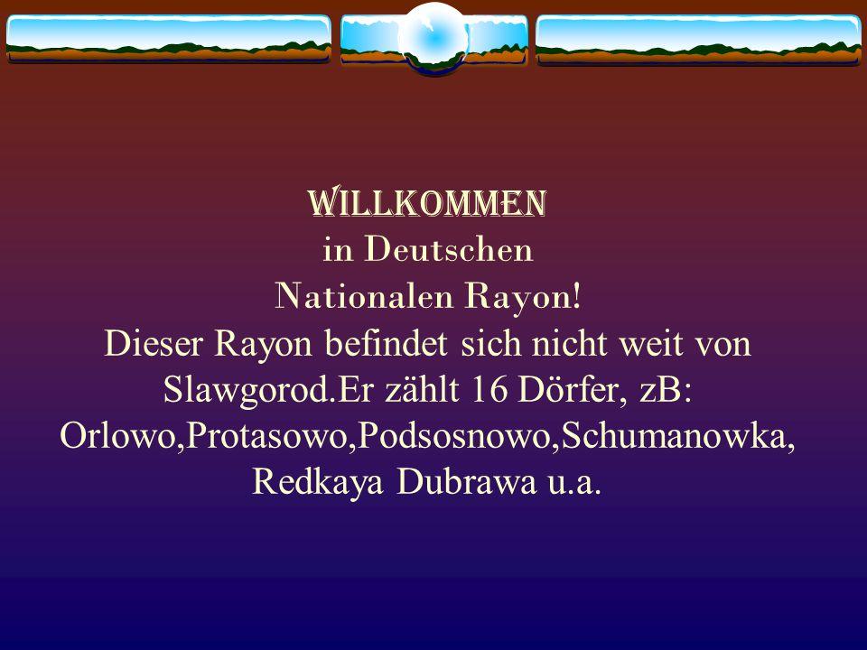 Willkommen in Deutschen Nationalen Rayon